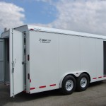 Enclosed Van Concession Trailer - Bumper Pull