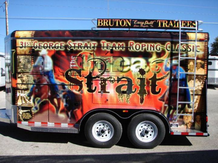 31st George Strait Team Roping